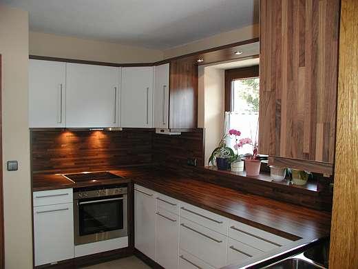 beautiful arbeitsplatte k che nussbaum pictures home design ideas. Black Bedroom Furniture Sets. Home Design Ideas